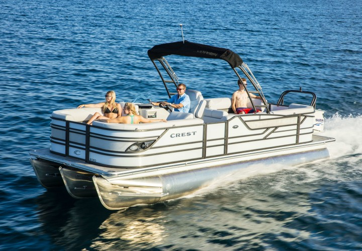 New Boat Brochures 2017 Crest Classic 230 Chateau