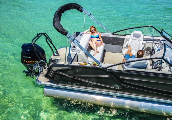 New Boat Brochures 2017 Crest Continental 270 Nx L Twin