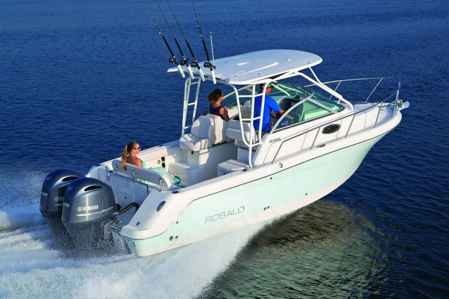 Down Payment Calculator >> New Boat Brochures - 2017 ROBALO R265
