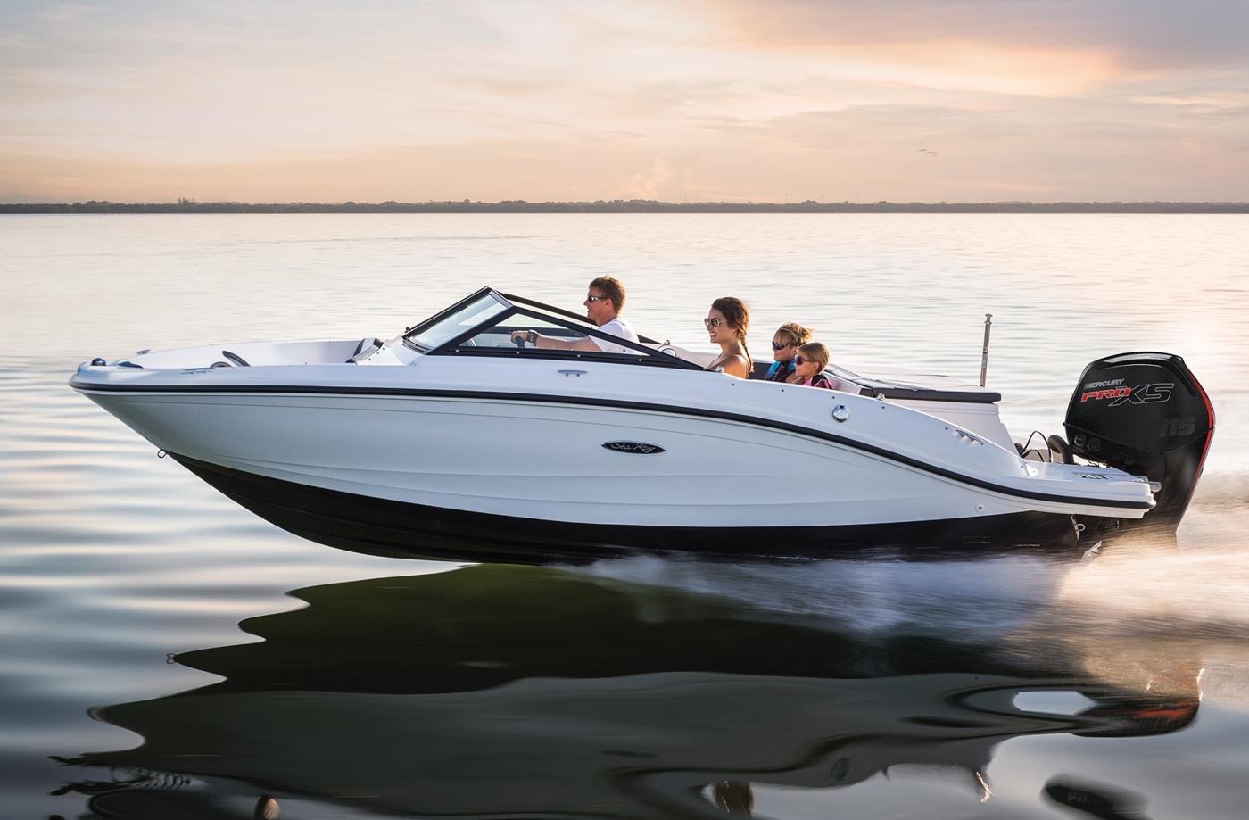 2017 SEA RAY SPX 190 OB