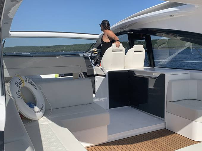 2020 Fairline boat for sale, model of the boat is 43 TARGA & Image # 25 of 34