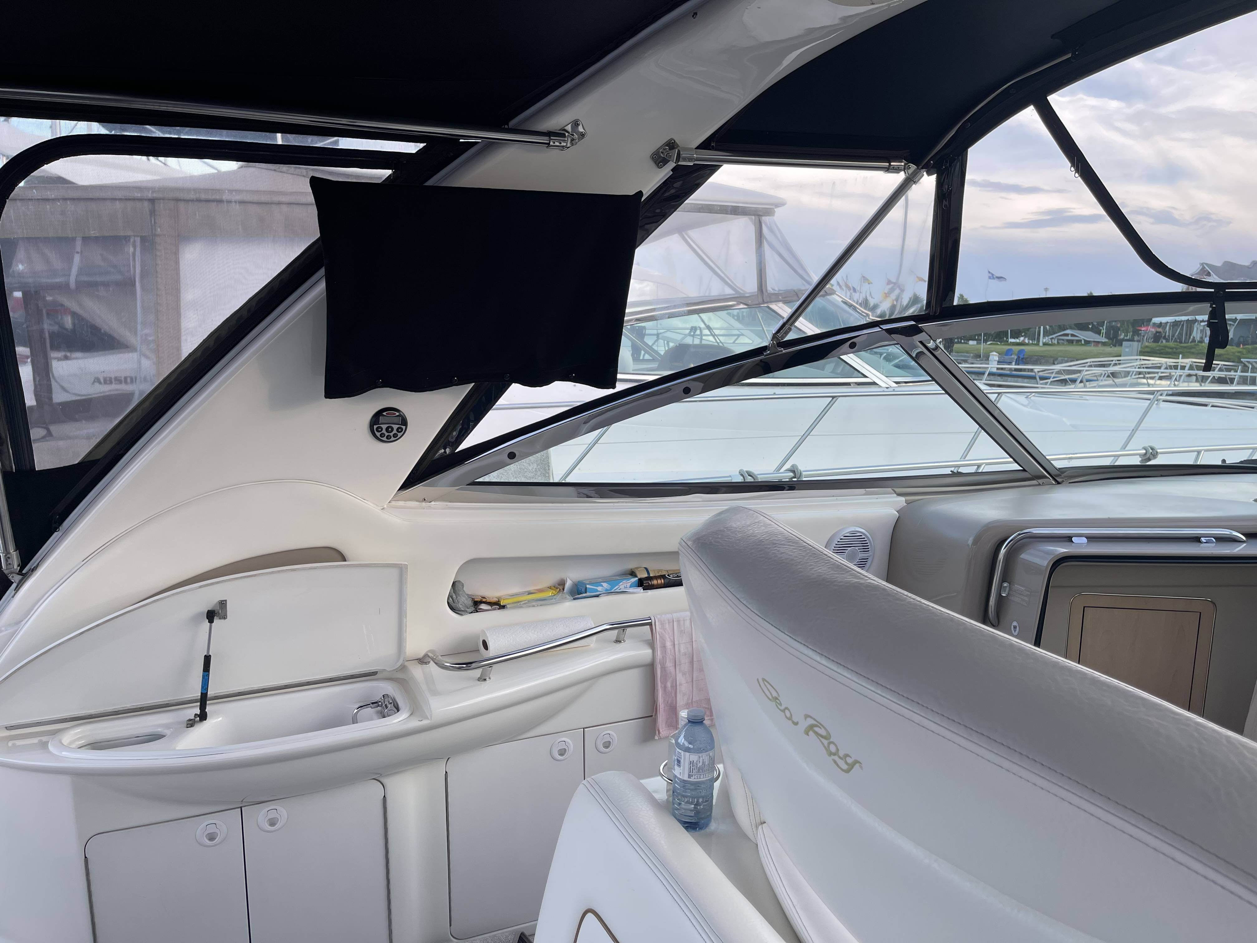1999 Sea Ray boat for sale, model of the boat is 460 SUNDANCER & Image # 13 of 48