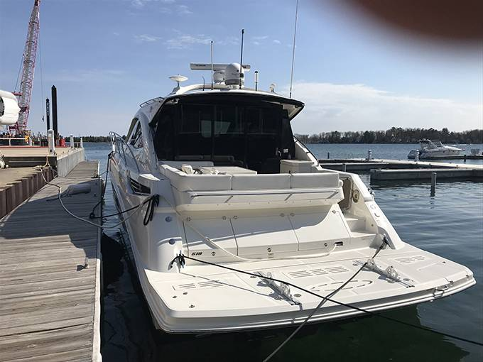 2014 Sea Ray boat for sale, model of the boat is 510 SUNDANCER & Image # 46 of 47