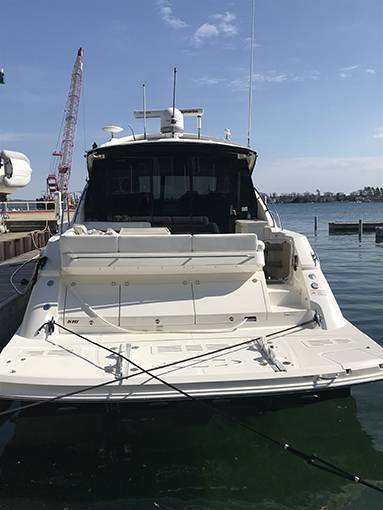 2014 Sea Ray boat for sale, model of the boat is 510 SUNDANCER & Image # 45 of 47