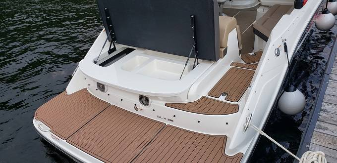 2017 Sea Ray boat for sale, model of the boat is 280 SLX & Image # 16 of 17