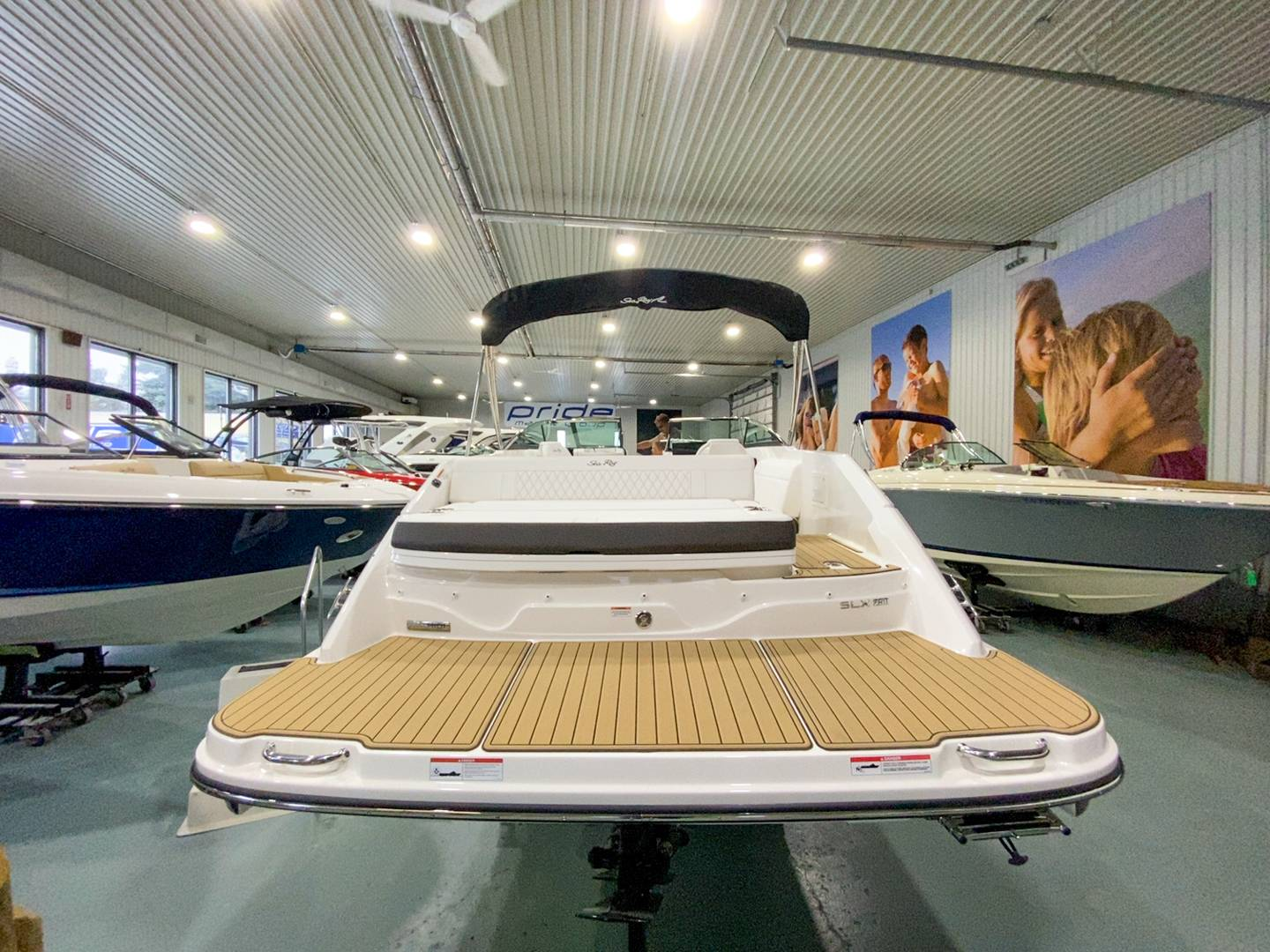 2021 Sea Ray boat for sale, model of the boat is SLX 250 & Image # 14 of 16