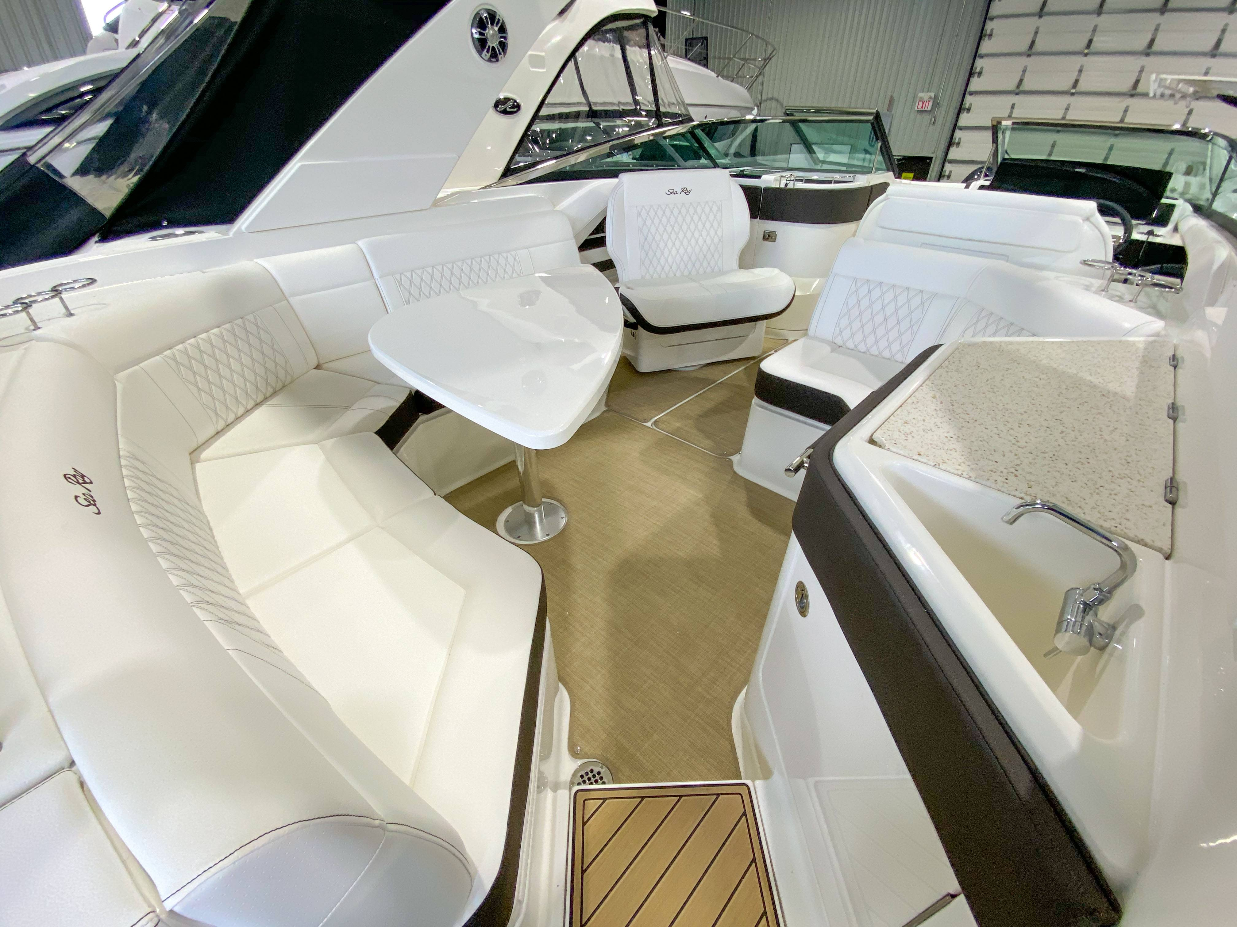 2021 Sea Ray boat for sale, model of the boat is SLX 310 & Image # 12 of 24