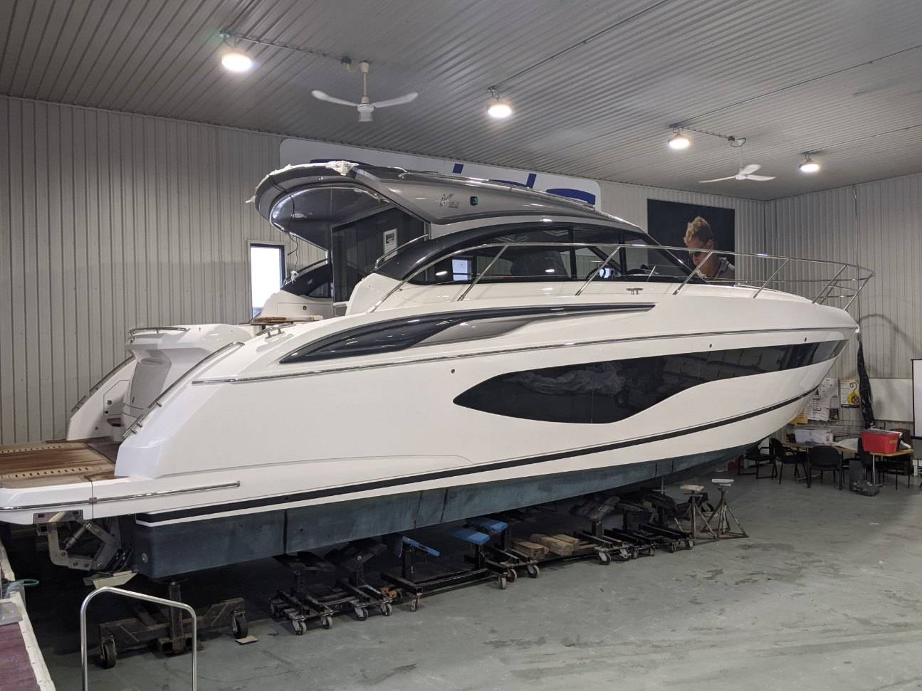 2021 Princess Yachts boat for sale, model of the boat is V50 & Image # 22 of 29